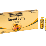Only Natural – Royal Jelly(300mg) 10 fiole Co & Co