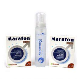 Pachet maraton, Parapharm, forte 40 capsule + maraton gel 50 ml