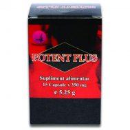 Potent Plus, 15 capsule