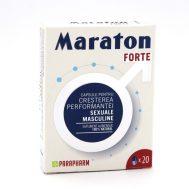 Maraton forte,Parapharm,20 capsule gelatinoase tari