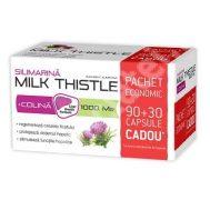 Silimarina Milk Thistle + Colina 1000 mg x 90 capsule + 30 capsule Gratis
