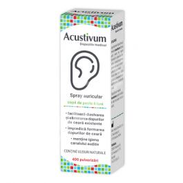 Acustivum Spray Auricular Pentru Igiena Urechilor