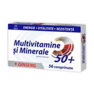 Multivitamine si Minerale 50+ cu Ginseng